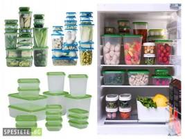 Съхранете свежа храна с комплект от 17бр. кутии