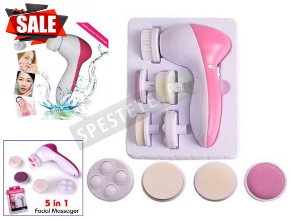 Масажор за красива кожа на лицето 5in1 Beauty care massager